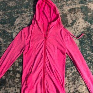 Pink Lululemon hoodie